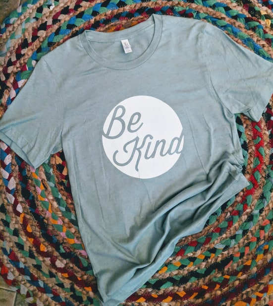 Mint Green Be Kind T-shirt