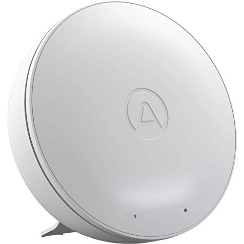 Airthings Wave Mini - Indoor Air Quality Monitor (Humidity, Temp, VOCs) with App & Web Dashboard