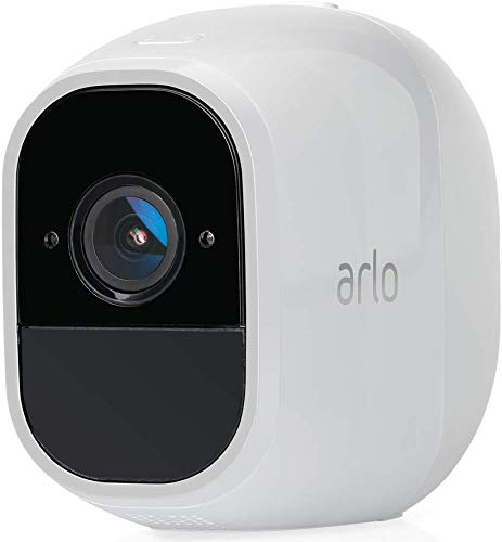 Arlo Pro2 Smart Home Security Cameras | Alarm | Rechargeable | Night Vision | Indoor/Outdoor | 1080p | 2-Way Audio | Free Cloud Storage Included | 2 Camera Kit | VMS4230P