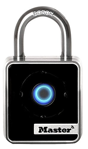 4400D Indoor Bluetooth Smart Padlock, 2-Inch Wide Body, 7/8-Inch Shackle Height, 9/32-Inch Diameter Shackle by Master Lock
