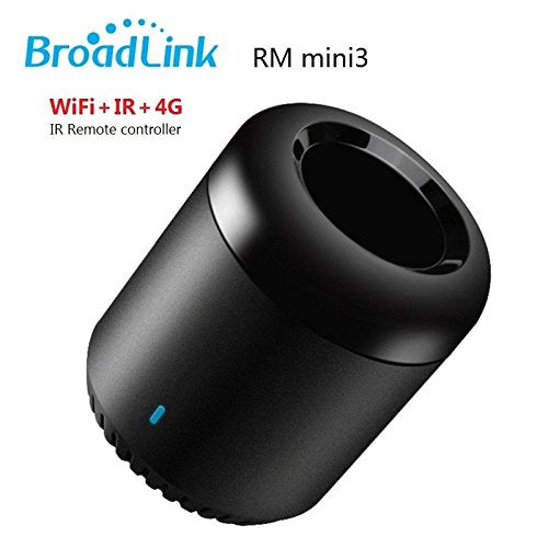 Broadlink Mini 3 Universal Intelligent Remote Control Hub Center via Smart Devices RM Mini3 IR Smart Wifi Compatible with Alexa One for All Control TV PVR VDO DVD CD AUD SAT (RM Mini 3)
