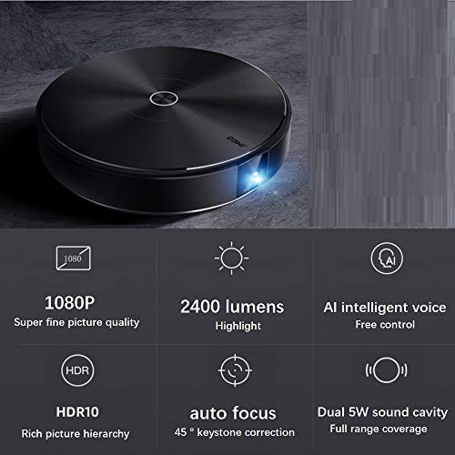 George zhang Projector home small 1080P HD smart home projector wireless wifi screenless TV E10