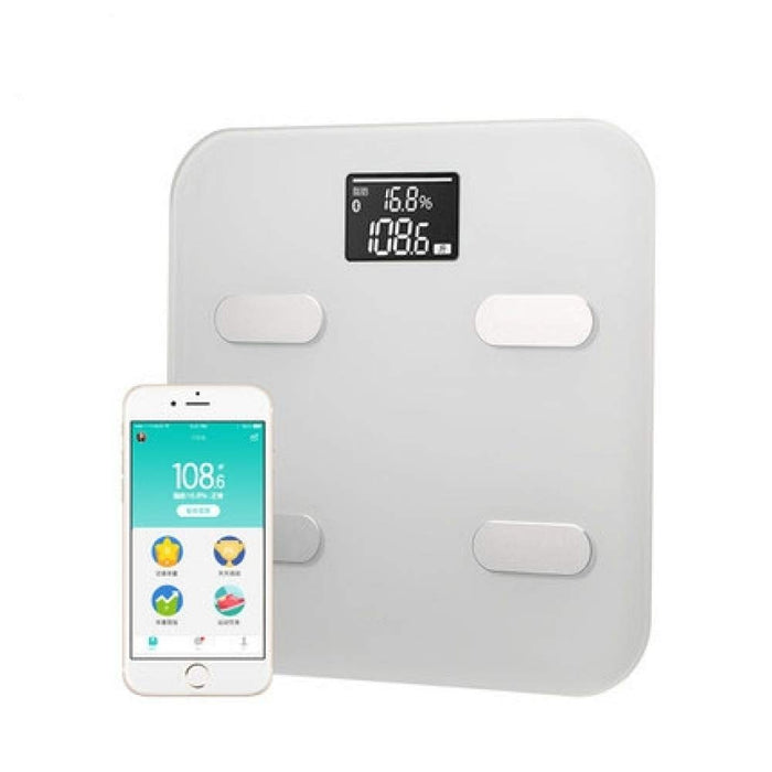 YYMMQQ Bathroom Scale Original Smart Premium Weight Scale Fat Percentage Digital Body Fat Weighing Scale Premium Support Bluetooth APP