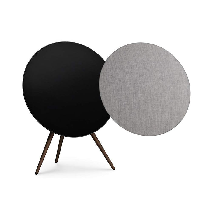Bang & Olufsen Beoplay A9 4th Generation Speaker - Black, with Additional Light Grey Cover by Kvadrat