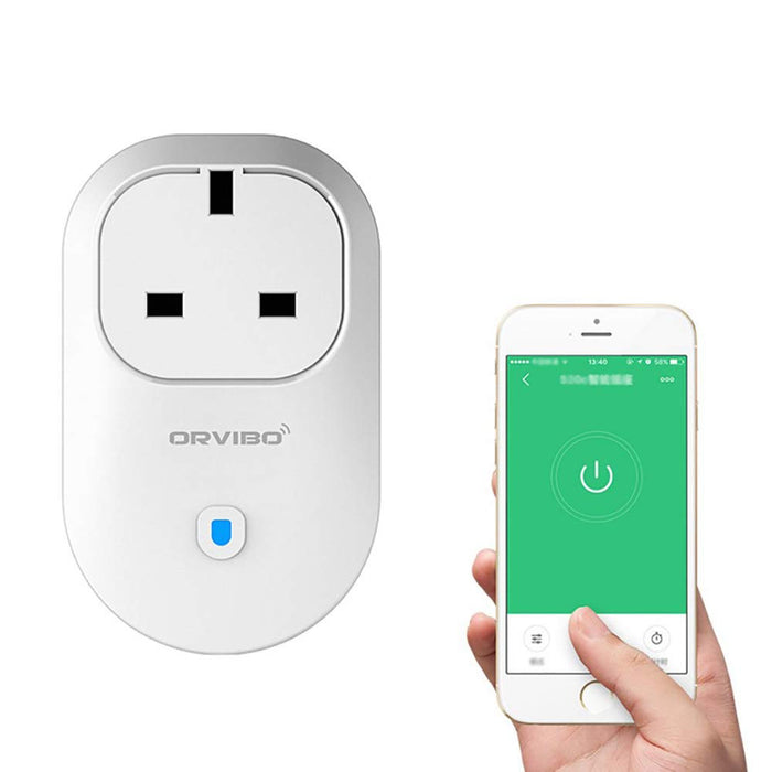 CGGDP Smart wifi plug phone remote control timer switch socket, compatible with Alexa, Echo and Google Home, no hub required