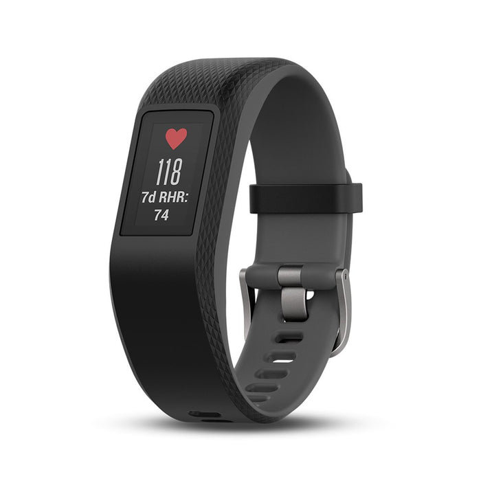 Garmin Vivosport Smart Activity Tracker with Wrist-Based Heart Rate and GPS - Black, Large