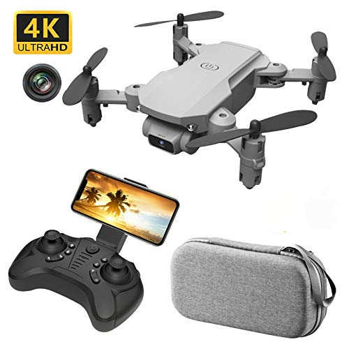 mengzhifei Oringal Mini RC Drone with Camera 4K HD WIFI FPV One-Key Return Remote Control Helicopter Foldable Global Toy