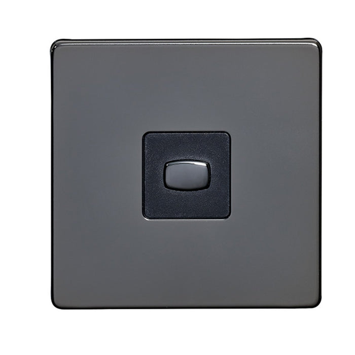 Energenie MIHO044 Alexa Compatible MiHome 2-Way Light Switch, 250 W, 240 V, Black Nickel