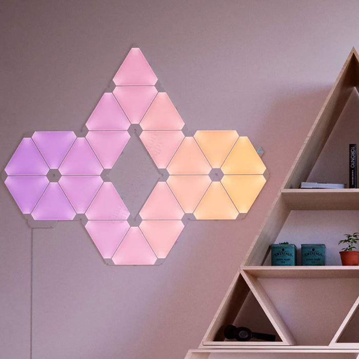 Smart Rhythm Edition Kit Home Decoration LED Light Panels Nightlight for Apple Homekit Google Home,9pcs/set