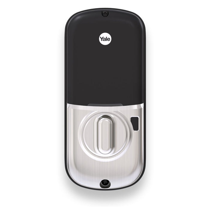 Yale Security YRD226ZW2619 Yale Assure Lock Touchscreen Keypad Deadbolt, Works with SmartThings, Ring, Wink, Honeywell and Other Z-Wave Smart Home Systems, Satin Nickel