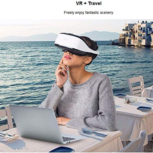 VRGLASS 3D PC VR 2.5K Headset Immersive Virtual Reality Glasses 110 Degree FOV WITH IMAX Effects And Realistic for Computer/Laptop/IPD Adjustment