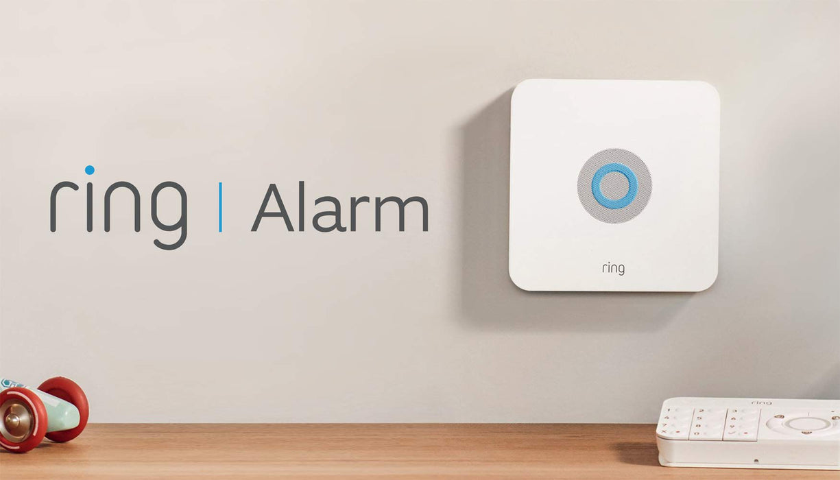 Ring Alarm 5 Piece Kit - Home Security System with optional Assisted Monitoring - No long-term commitments - Works with Alexa