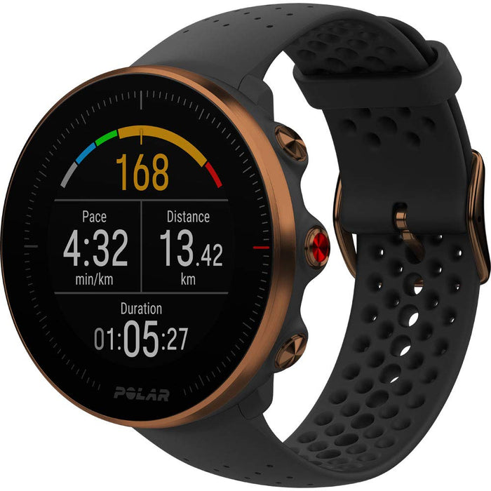 Polar Vantage M Advanced GPS HRM Sports Watch for Men and Women (Running and Multisport Training with Wrist-based Heart Rate Monitor, Waterproof, Lightweight Design, Enhanced Technology)