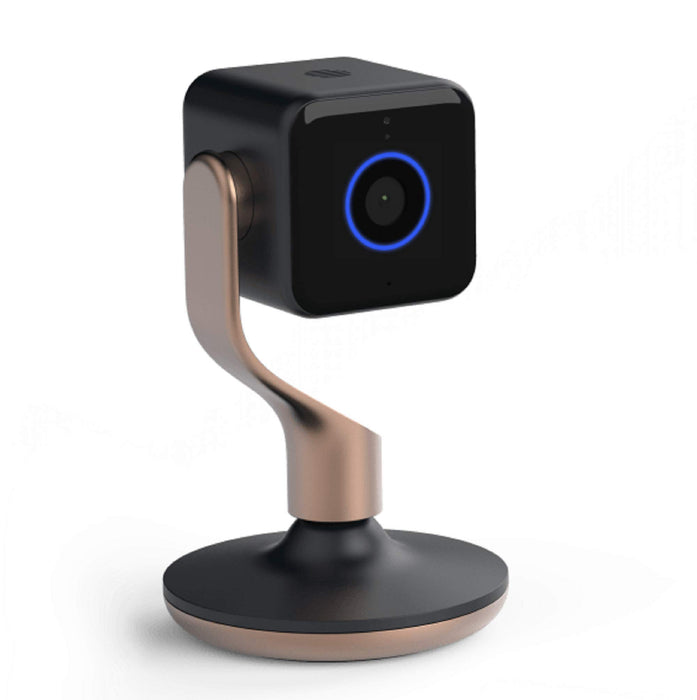 Hive View Smart Indoor Camera - Black and Brushed Copper
