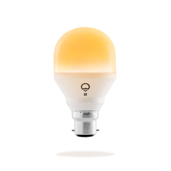 Lifx Mini Day & Dusk (B22) Wi-Fi Smart LED Light Bulb adjustable, dimmable, no hub required, works with Alexa, Apple HomeKit and the Google Assistant