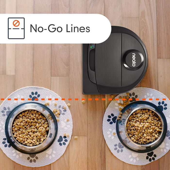 Neato Robotics Botvac D602 Connected - Compatible with Alexa - Robot Vacuum Cleaner with Charging Station, Wi-Fi and App