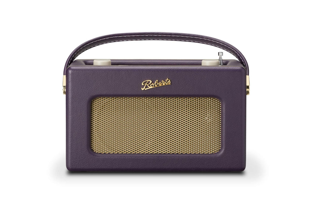 Roberts Radio Retro DAB/DAB+ FM Wireless Portable Digital Bluetooth Radio Alexa Voice Controlled Smart Speaker Revival iStream 3 - Mulberry Purple