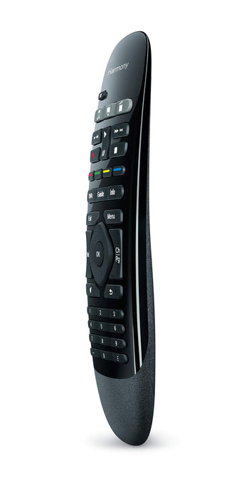Logitech Harmony Smart Control IR Wireless Buttons Black Remote – IR Remote Control (Wireless, Black, Cable, DVD/Blu-Ray, TV, Game Consoles, Smartphone, TV Set-top Box, Buttons, 802.11b, 802.11g, 802.11 N, Lithium)