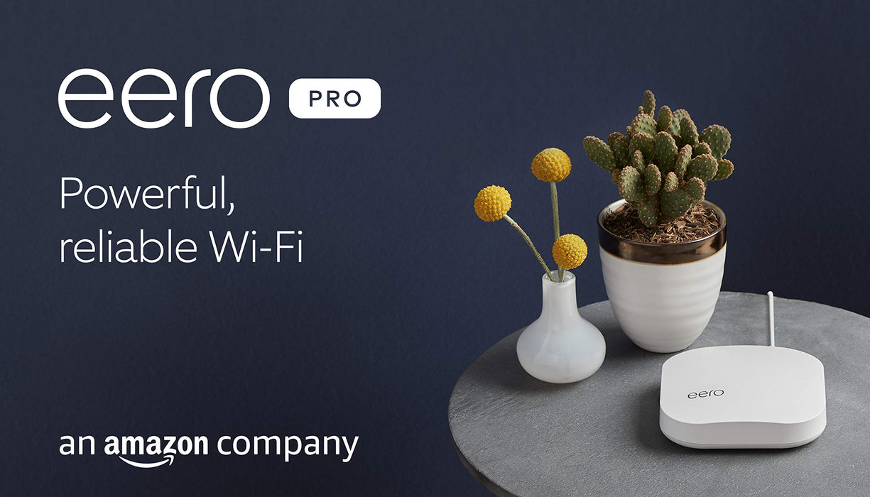 Introducing Amazon eero Pro mesh Wi-Fi system | 3-pack
