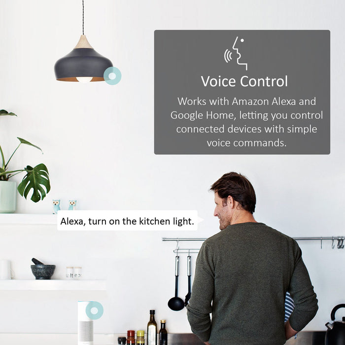TP-Link Smart WiFi Light Bulb, B22, 10W, Works with Amazon Alexa (Echo and Echo Dot), Google Home and IFTTT, Dimmable Soft Warm White, No Hub Required [Energy Class A+]