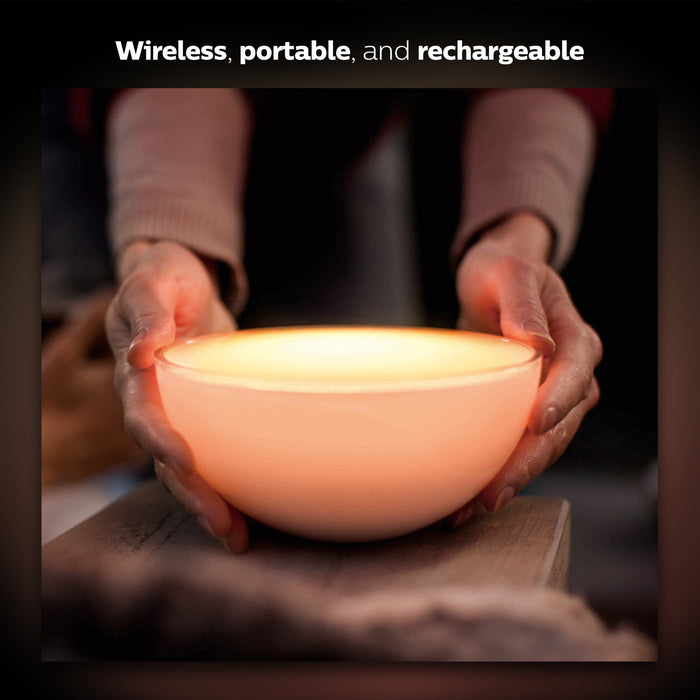 Philips Hue Go Portable Colour Changing LED Smart Table Lamp (Compatible with Amazon Alexa, Apple HomeKit and Google Assistant)