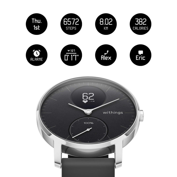 Withings/Nokia Steel HR - Hybrid Smartwatch