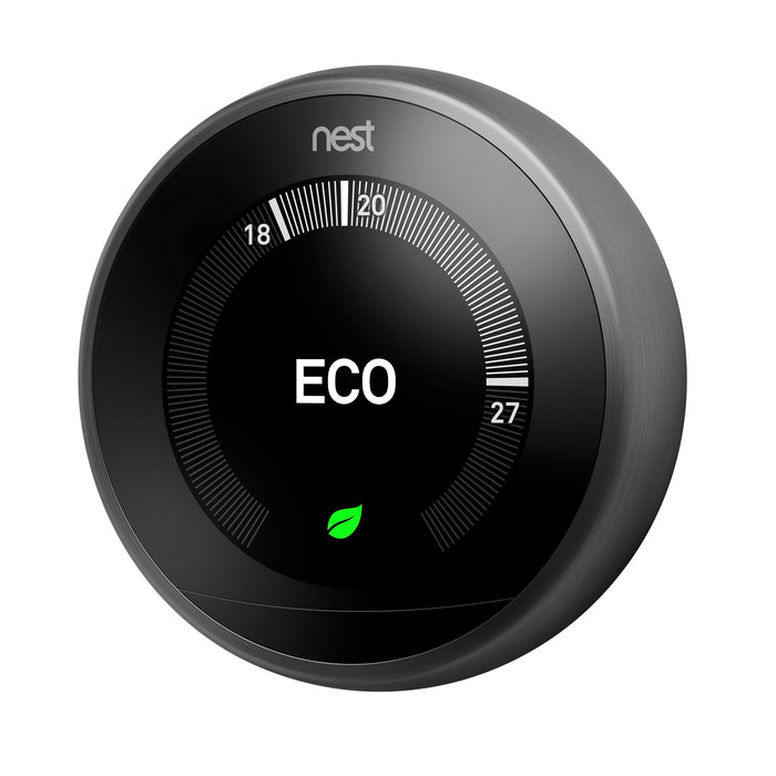 Google Nest T3029EX Nest Learning Thermostat, 3rd Generation, Black