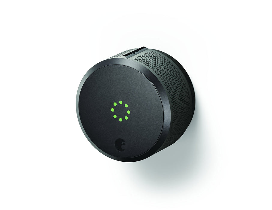 August Home AUG-SL-CON-G03 Dark Gray August Smart Lock Pro, 3rd Generation, 1.5 V