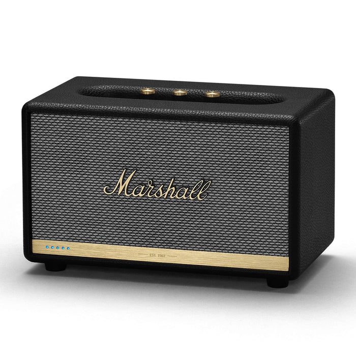 Marshall Acton II Voice Activated Bluetooth Speaker - Black