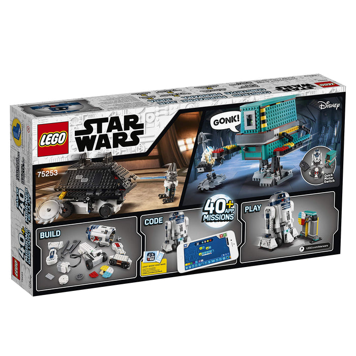 LEGO 75253 Star Wars BOOST Droid Commander 3 Robot Toys in 1 Set, App Controlled Programmable Interactive Robots