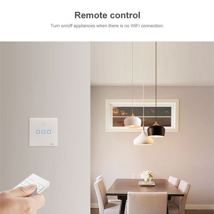 Sonoff IFan03 Wi-Fi Ceiling Fan And Light Controller Support 433MHz RF Bridge Remote Control By App Ewelink New Smart Home