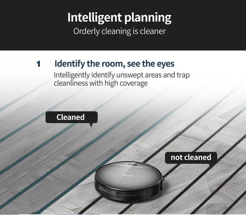 Proscenic 800T Robot Vacuum Cleaner Automatic Sweeping Dust Mopping Mobile App Remote Control Planned Robotic