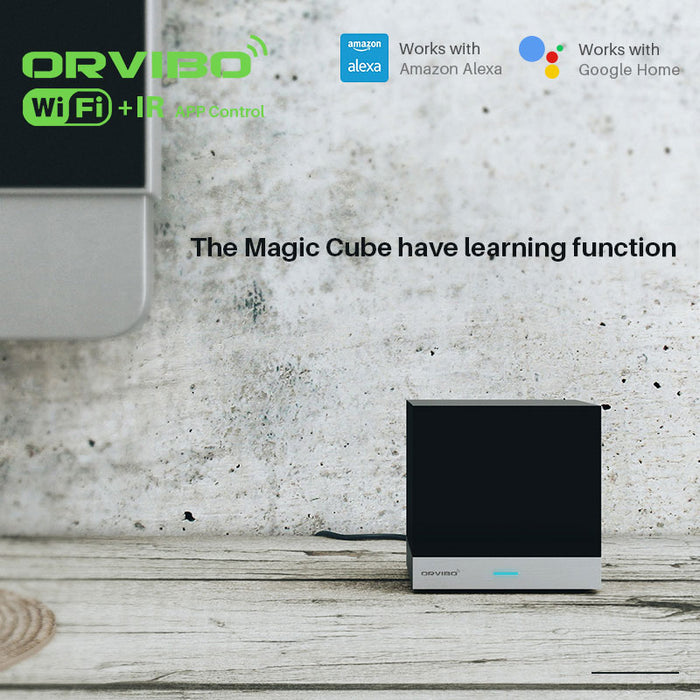 Orvibo Magic Cube Universal Intelligent Controller With Learning Function WiFi IR Wireless Remote Control Smart Home Automation