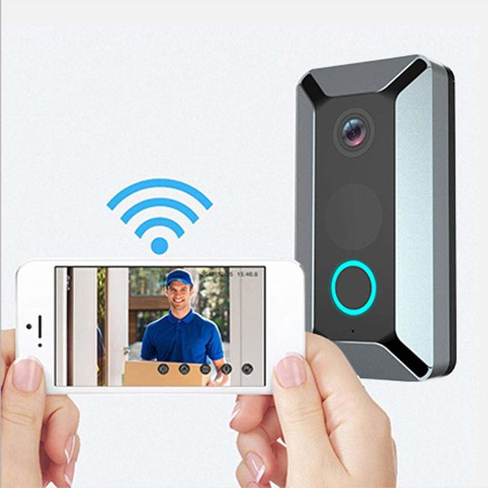 V6 Wifi Doorbell Smart Wireless 720P Video Camera Cloud Storage Door Bell Cam Waterproof Home Security House Bell Home Security