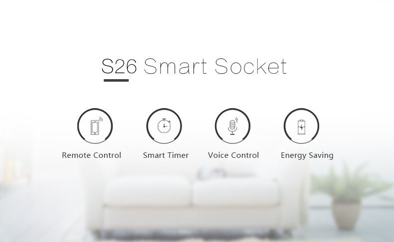 Sonoff 5Pcs Sonoff S26 WiFi Smart Socket Wireless Plug Power Socket Smart Home Switch Smart Remote Control for Alexa Google Assistant