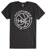 HoopWERX Logo Tee in Black