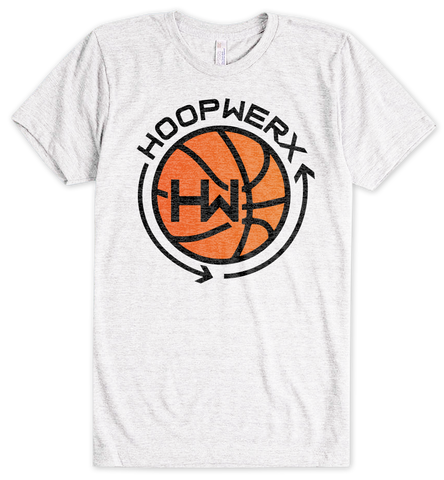 HoopWERX Logo Tee in White