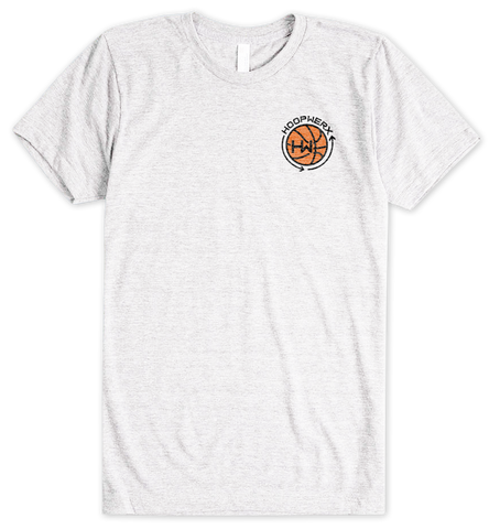HoopWERX Logo Chest Tee in White