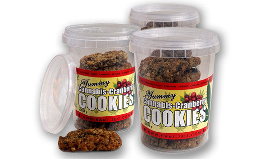 Cannabis-Cranberry Cookies 150g 1x