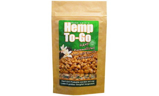 """Hemp to Go"" Hanfsamen Snack 50g"
