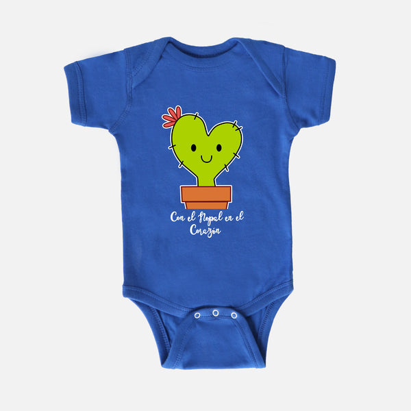 Cora the Nopalita Baby Bodysuit - Fiesta Kits USA