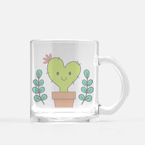 Cora the Nopalita Glass Mug - Fiesta Kits USA