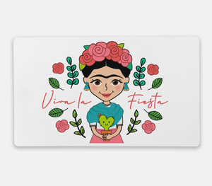 Desk Mat (Frida, Luchadora, & Nopalitos) - Fiesta Kits USA