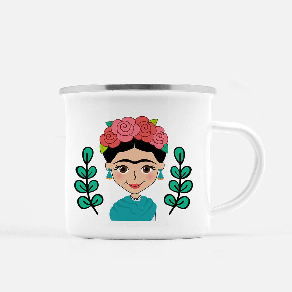 Frida Fogata Mug - Fiesta Kits USA