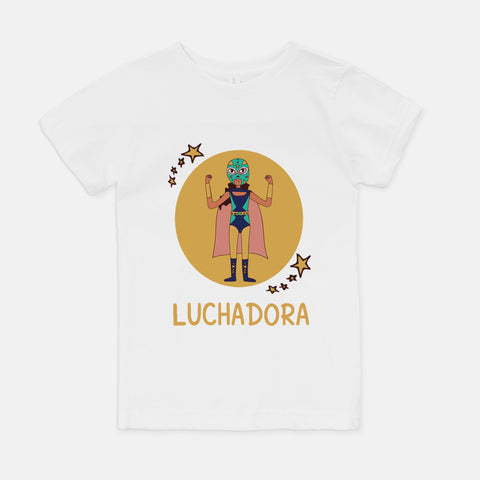 Luchadora Youth T-Shirt - Fiesta Kits USA