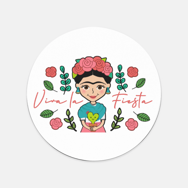 Mouse Pad (Frida, Luchadora, & Nopalitos) - Fiesta Kits USA