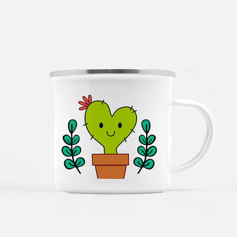 Cora the Nopalita Fogata Mug - Fiesta Kits USA