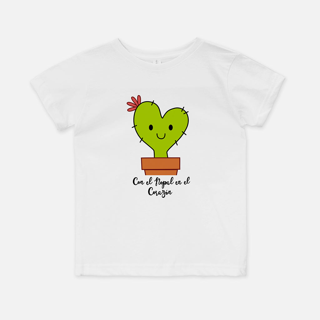 Cora the Nopalita Toddler T-Shirt - Fiesta Kits USA