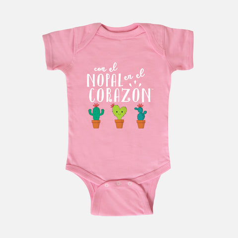 Nopalitos Baby Bodysuit - Fiesta Kits USA