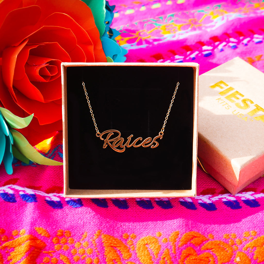 Raíces Necklace - Fiesta Kits USA